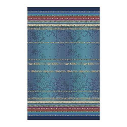 Bassetti Foulard Malve B1 - Foulard (350 x 270 cm), Color Azul