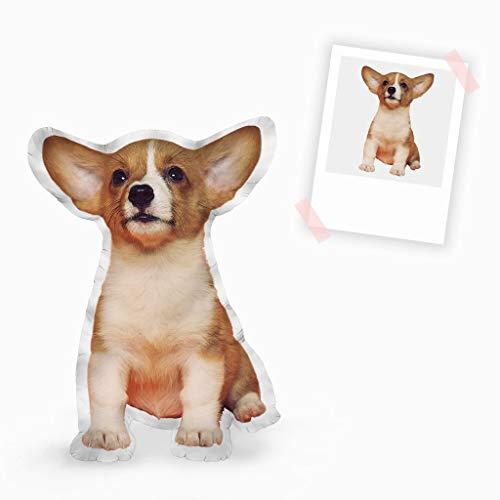 Mewaro individuell personalisierbares Formkissen - Hundekissen - Dein Lieblingskissen (Kissengröße, 60 cm)