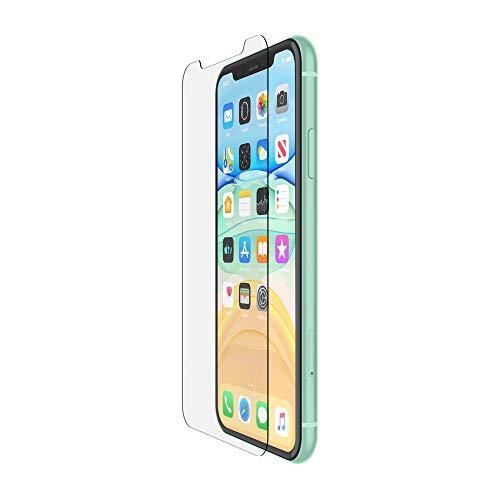 Belkin ScreenForce TemperedGlass skärmskydd för iPhone 11 (skärmskydd för iPhone 11, även kompatibel med iPhone XR)