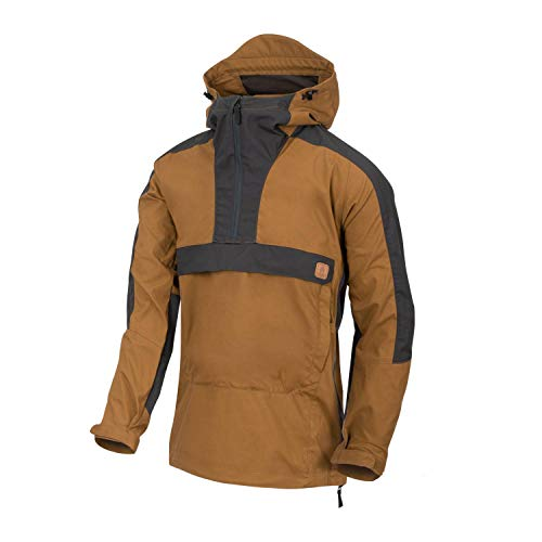 Helikon-Tex Woodsman Anorak Jacket - DuraCanvas Coyote/ASH GRAU XS/Regular