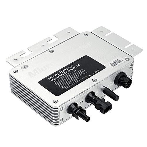 TOPINCN Micro Solar Photovoltaik-Wechselrichter für Power Generation System 300 W DC 22~50 V Eingangsspannung zu AC 220 V Ausgangsspannung DC 22~50 V Eingangsspannung