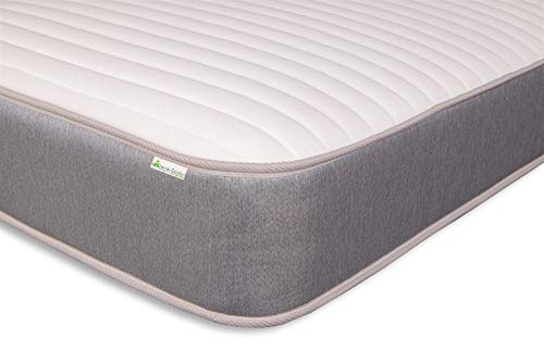 Extreme Comfort Single Memory Foam Open Coil Sprung Mattress 9 Layer Construction 9 Inch Deep Spring And Memory Foam Mattress With Luxurious Jersey Knitted Fabric - 3ft Single