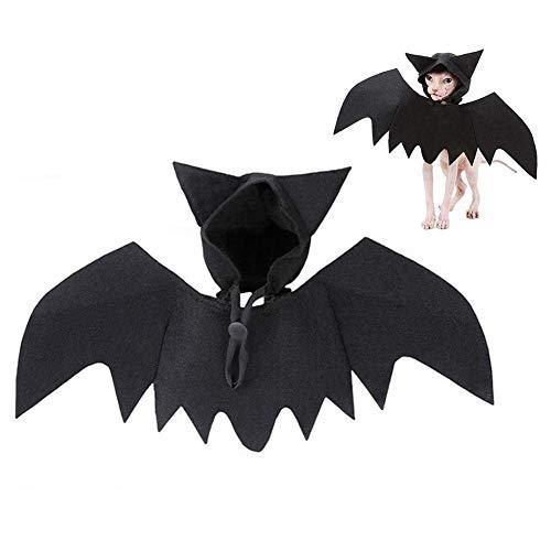 LjzlSxMF Weihnachten Pet Hundekostüm, Haustier Batwing Kostüm-Ausstattungs-Fledermaus Flügel Vampir-Kostüm Halloween Zubehör