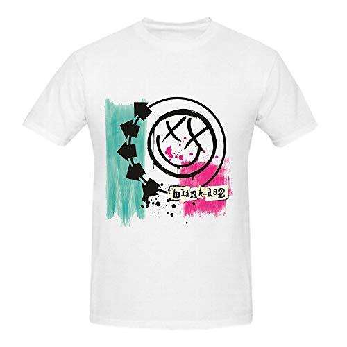 KAIZOD Blink 182 Funny Tee Shirts for Men
