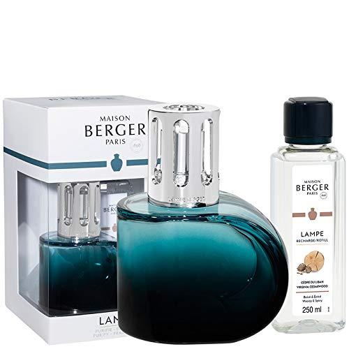 Lampe Berger Alliance - Juego de ambientadores (Cristal, 430 ml), Color Verde