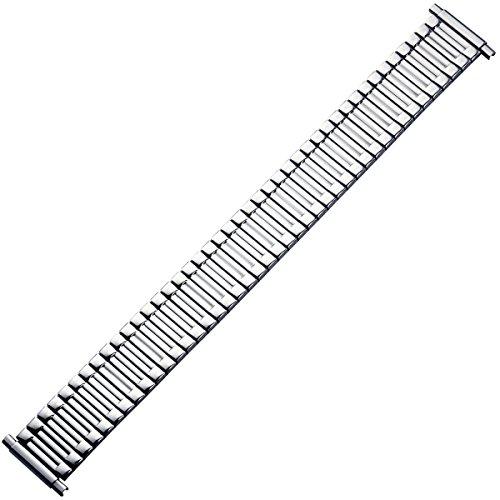 MARBURGER Uhrenarmband 16mm Edelstahl Silber XL - 88400300020