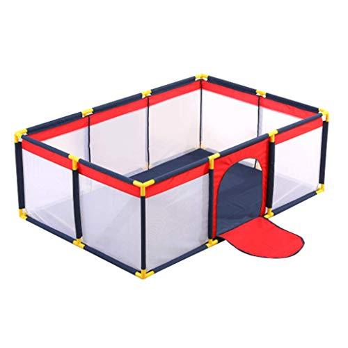 NMDD Kindersicherheitsspielplatz für Kinder Hof Bällebad Kinderspielplatz Babyspielzelt mit Aufbewahrungstasche mit Reißverschluss für drinnen und draußen