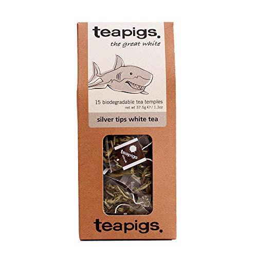 teapigs silver tips tee 15 tempel, 1er Pack (1 x 62 g)