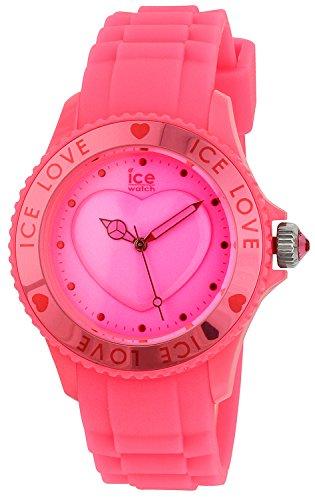 Ice-Watch Reloj Analógico de Cuarzo Unisex con Correa de Silicona – LO.PK.U.S.10