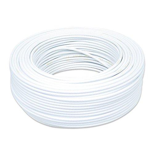 Cabo Coaxial Cabletech RGE-06 90% Branco 100M 802216000P00CB12