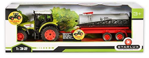 Starlux McCormick Tractor Set en Krukas – Boerderij Bereik (1:32 schaal)
