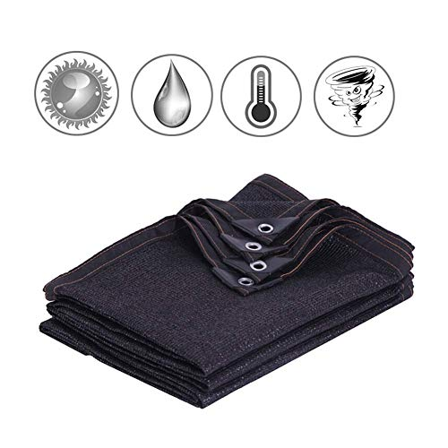 YUDIAN -Shade net 90% Shade Fabric Sun Shading Cloth with Grommets 8-pin Encryption Shade Netting Breathable Patio Sunshade for Plant Cover Privacy Fence Swimming Pool Car Sunshade