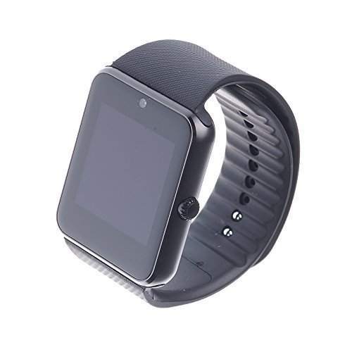 TOKUYI® GT081.54inch TFT HD LCD BluetoothV3.0Smart Watch Wrist Phone con camera Touch Screen per Cell Phone Watch Phone per Android (Full Functions) Samsung S3/S4/S5/Note 2/Note 3/Note 4HTC Sony LG and iPhone 5/5C/5S/6/6Plus (Partial Functions) colore nero