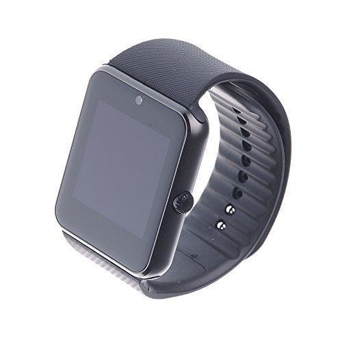 TOKUYI® GT08 1,54 inch TFT HD LCD Bluetooth V3.0 Smart Watch Wrist Phone met camera Touch Screen voor Apple Phone Watch Phone voor Android (Full Functie) Samsung S3/S4/S5/Note 2/Note 3/Note 4 HTC Sony LG en iPhone 5/5C/5S/6/6 Plus (speciale functies) Kleur: Zwart