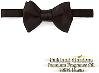 BLACK TIE Fragrance Oil - Leather & Peppercorn blended with musk and patchouli with slight hints of citrus - Fragrance Oil By Oakland Gardens (060 mL - 2.0 fl oz Bottle)