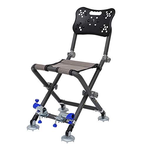 Abaodam Multifunction Portable Folding Beach Chair Lounge Chair Fishing Stool