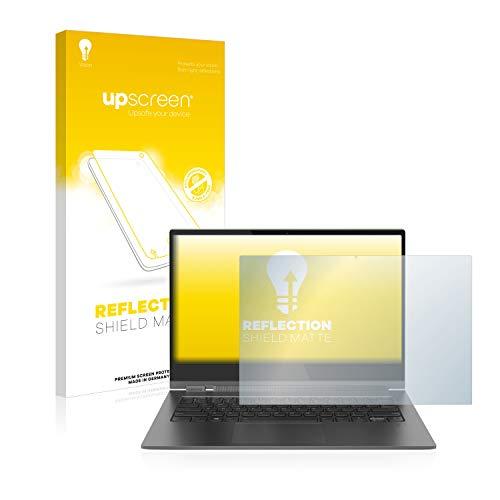 upscreen Entspiegelungs-Schutzfolie kompatibel mit Lenovo Yoga C930 – Anti-Reflex Bildschirmschutz-Folie Matt