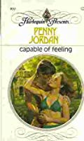 Capable of Feeling (Harlequin Presents # 931) 0373109318 Book Cover