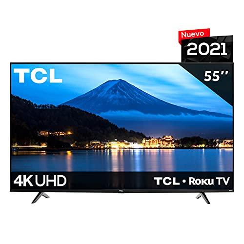Pantalla TCL 55 4K Smart TV LED 55S443-MX Roku TV (2021)