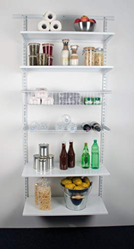 Element System Easy Regal-Set - Storage Room, 1970 x 870 x 300 mm, Weiß