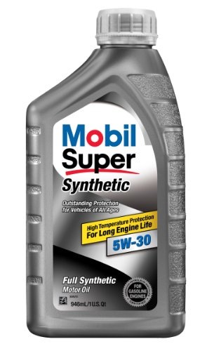 Mobil Super 112914 5W-30 Synthetic Motor Oil - 1 Quart (Pack of 6)