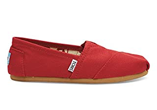 TOMS Women's Red Canvas Classic 001001B07-RED (Size: 8.5) (B0018C73VS) | Amazon price tracker / tracking, Amazon price history charts, Amazon price watches, Amazon price drop alerts