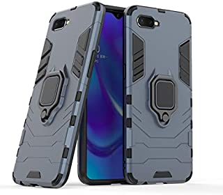 Fitted Cases - For Oppo Realme 3 X For Reno Z 10X Zoom F11 Pro A9 A9X K1 R15X Case Car Holder Robot Armor Rubber Case Ring...