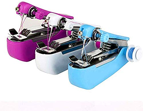 Review TEHWDE Sewing Accessaries Portable Sewing Machine Portable Mini Sewing Machine Sewing Sewing ...
