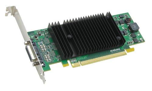 Matrox P690 Plus LP Passiv Grafikkarte (PCI-e, 256MB DDR2 Speicher, Dual DVI & VGA, 1 GPU)