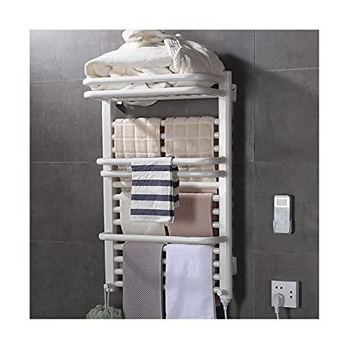 DSMGLRBGZ Toallero Eléctrico Bajo Consumo Radiador IPX4 a Prueba de Agua Blanco...