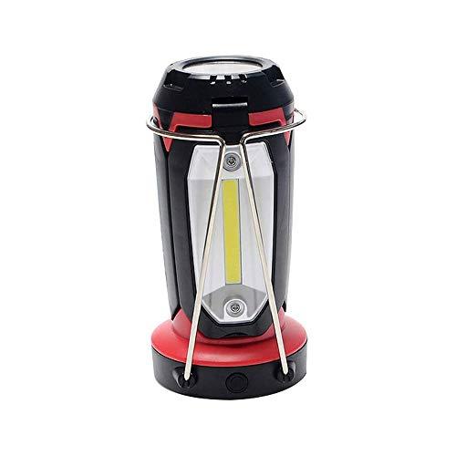 LKNJLL LED Recargable Linterna Camping, 1800 lúmenes, 3 Modos de luz, IPX44 Impermeable, Ultra Brillante lámpara Que acampa con 1200mAh Banco de alimentación
