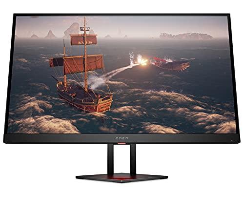 HP OMEN 27i - Monitor de 27' QHD (16:9, 2560 x 1440 pixeles, 165 Hz, 1 ms, 3 x USB 3.0) negro