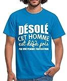 Couple Désolé Cet Homme Est Pris T-Shirt Homme