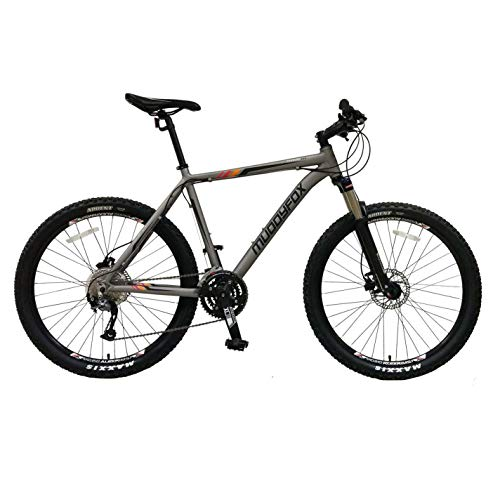 Muddyfox Mens Anarchy 500 Charcoal/Black 26Wh/22Fr