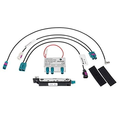 Kufatec 41756 / Calearo DAB+ Antennensplitter kompatibel mit VW Golf 7