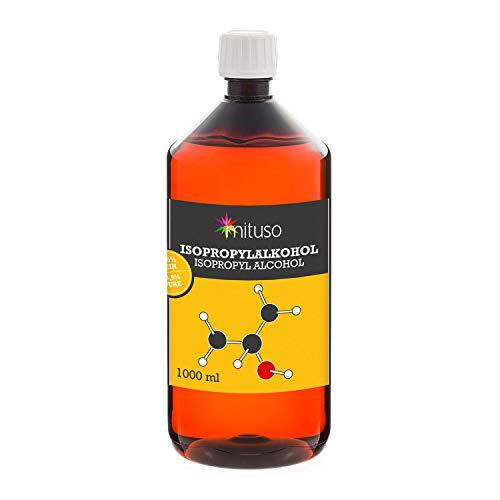 Mituso Isopropylalkohol 99,9%, Propan-2-ol klar, Isopropanol, 1er Pack (1x 1000ml)