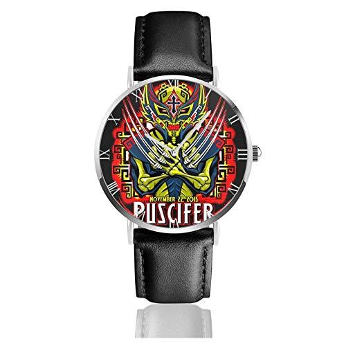Reloj Unisex Puscifer Reloj de Moda Ultrafino