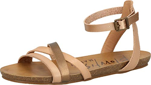 Blowfish Galie Vegan Damen Sandalen Neutral 38 EU