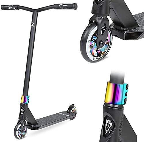 VOKUL BIZT K1 Pro Patinete - Acrobacia Patinete de Trucos y Saltos para Niños/Adolescentes a Partir de 8 Años, Patinetes Freestyle Stunt Scooter con Ruedas de Aleación de 110MM