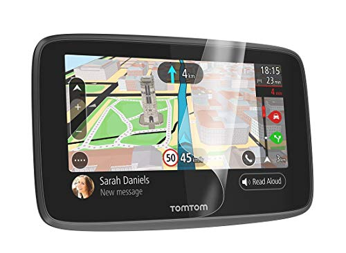 TomTom Bildschirm-Schutzfolie (geeignet für TomTom Navigationsgeräte mit 5- und 6-Zoll-Display, z.B. GO, Start, Via, GO Basic, GO Essential, GO Professional, GO Camper)