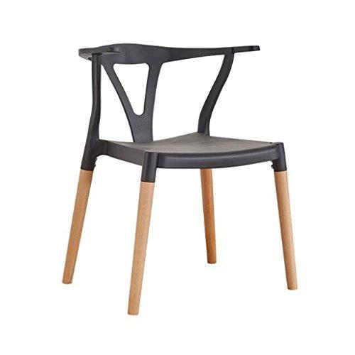 TXXM Horn Chair Creativity Computer Chair Modern Simple Study Stool Respaldo Restaurante for Adultos Silla de Comedor de Estilo Chino (Color : D)