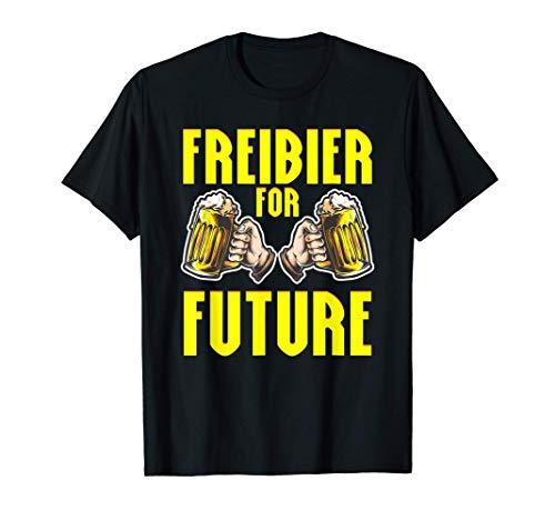 Freibier For Future | Bier T-Shirt