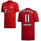 adidas FCB FC Bayern München Trikot Home Heimtrikot 2019 2020 Herren Cuisance 11 Gr XL