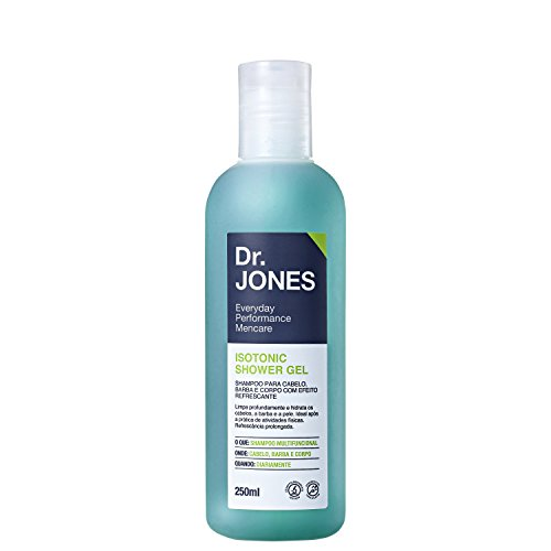 Dr. Jones-Shampoo Cabelo, Barba e Corpo Isotonic Shower Gel