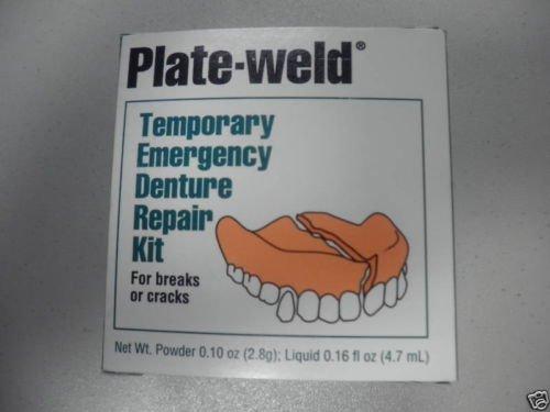 Plate Weld Temporary Emergency Denture Repair Kit, 1 Count