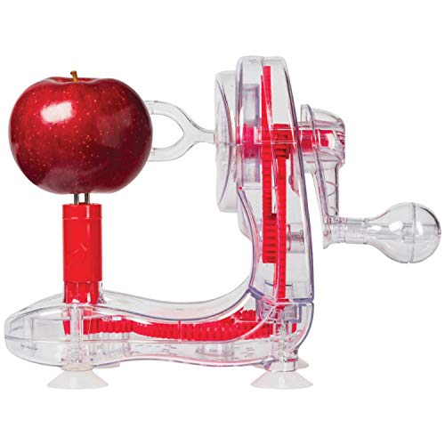 Starfrit Apple Peeler, Red
