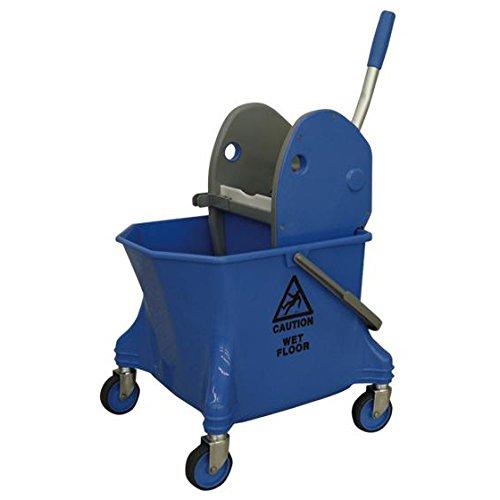 シーバイエス(C×S) 清掃用バケツ リンガー・バケツセット ブルー 6寸モップまで対応