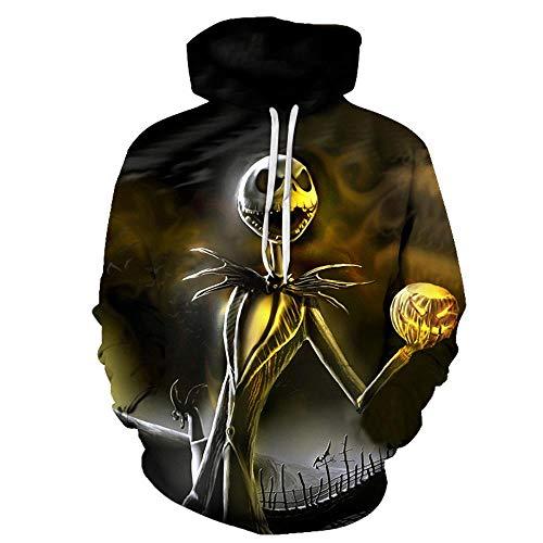 Gato de Halloween Camisetas del Traje suéter de impresión Digital de Gran Formato 3D,UNA,S