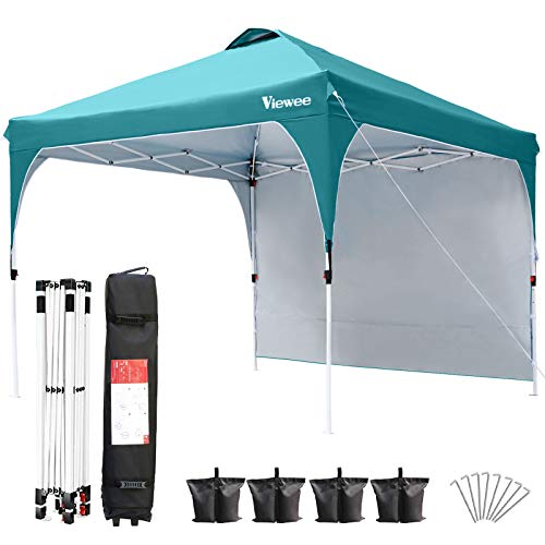 Viewee Canopy Tent with Side Wall 10' x 10'...