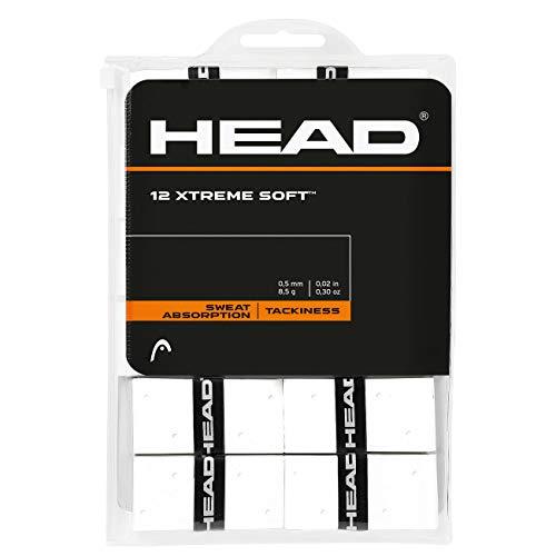 Head 12 Xtremesoft Accesorio de Tenis, Adultos Unisex, Blanco, Talla Única